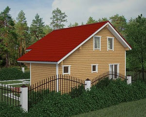 Доступные варианты брусовых домов в Казани