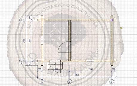 Построить баню 5х3 из профилированного бруса в Казани.