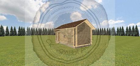 Построить баню из профилированного бруса на даче под ключ цена