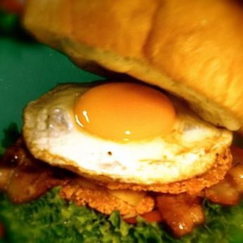 Authentic Rösti Burger, with Extra steak :p
