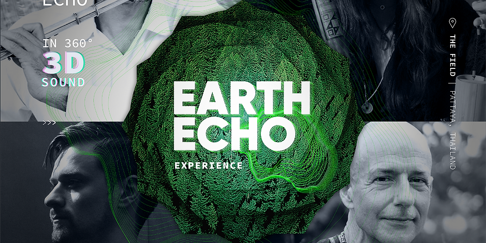 Wonderfruit 2019 - Earth Echo - 3D Sound and Light baths with soundscapes
