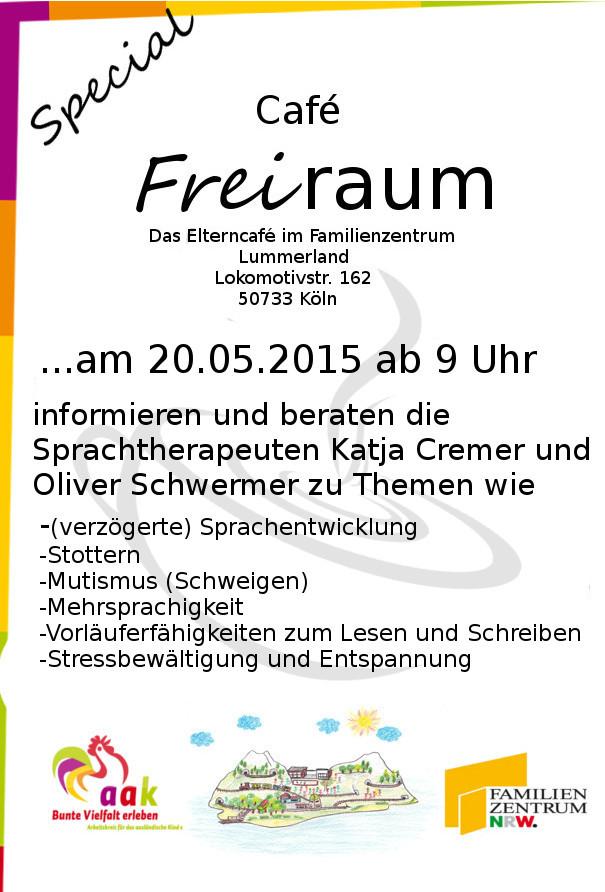 Beratung und Information zu Sprachtherapie/Logopädie im Lummerland