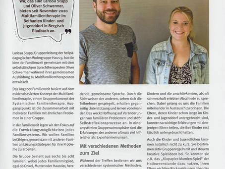 Familienzeit - Multifamilientherapie im Bethanien Kinder- und Jugenddorf in Refrath