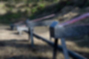 Jedburgh Targets set up at Ancient City Shooting Range