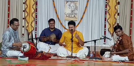 Vocal concert by V. Sankarnarayanan