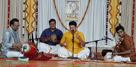 Vocal concert by V. Sankarnarayanan