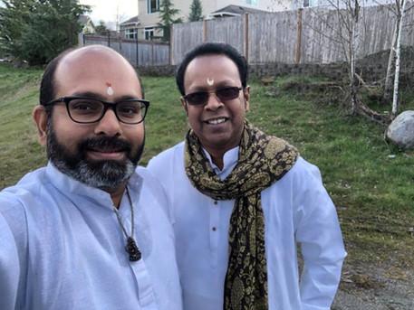 with VVS Murari