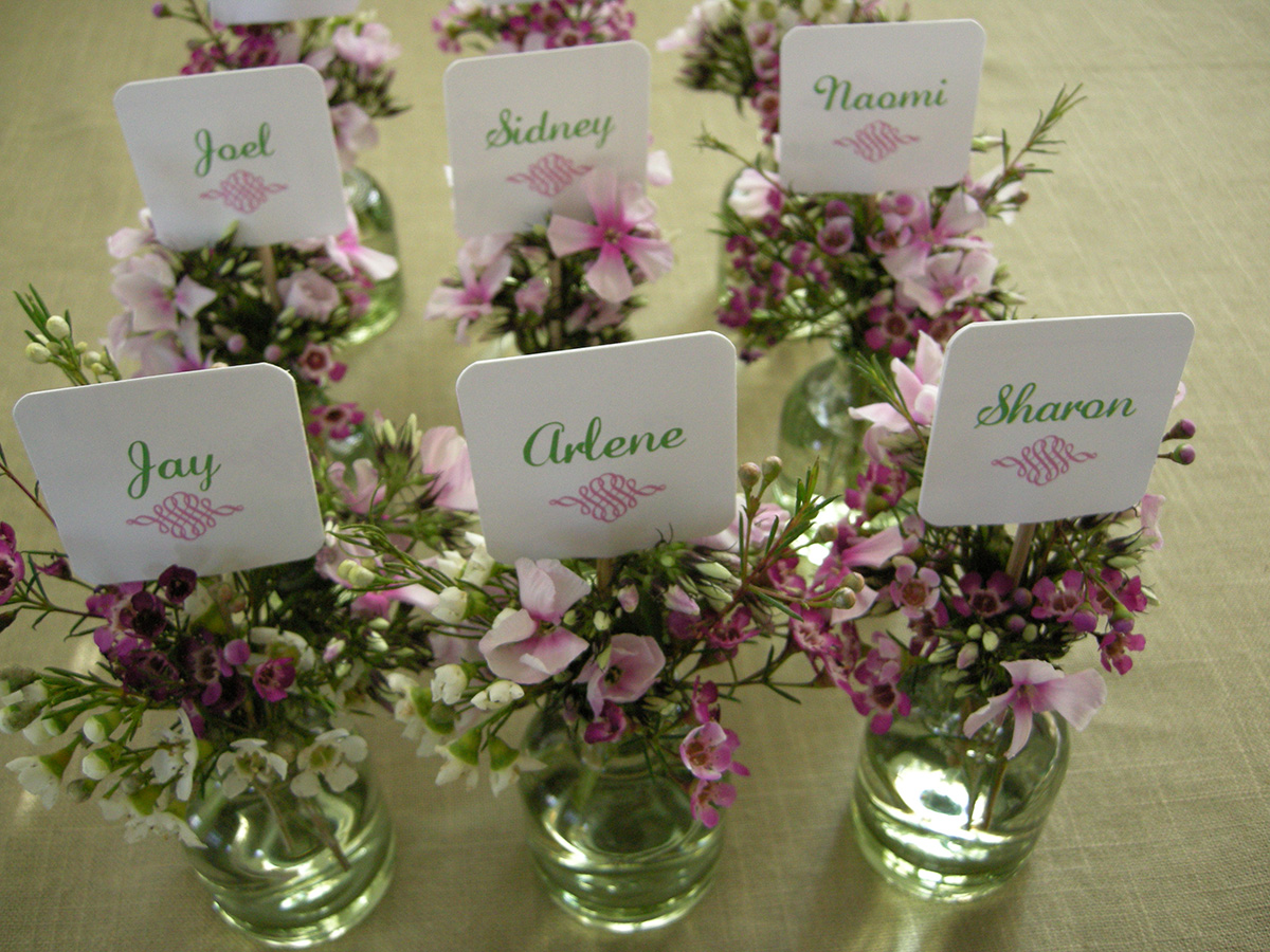 PLACECARD ARRANGEMENTS