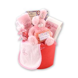 Little Bunny Baby Gift Basket