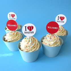 CUPCAKES WITH MESSAGE PICK