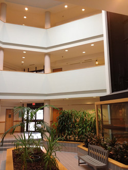 Hamilton Center II Atrium