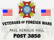 Veterans of Foreign Wars Paul Kenolio Hall Post 3850