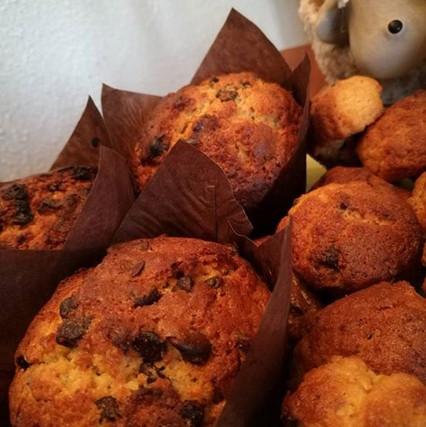 Muffins au miel fait maison