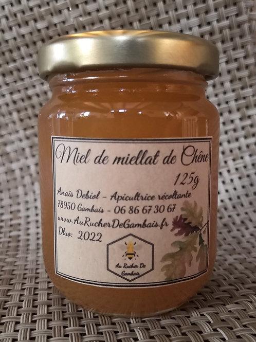 Miel de Miellat de chêne 125g