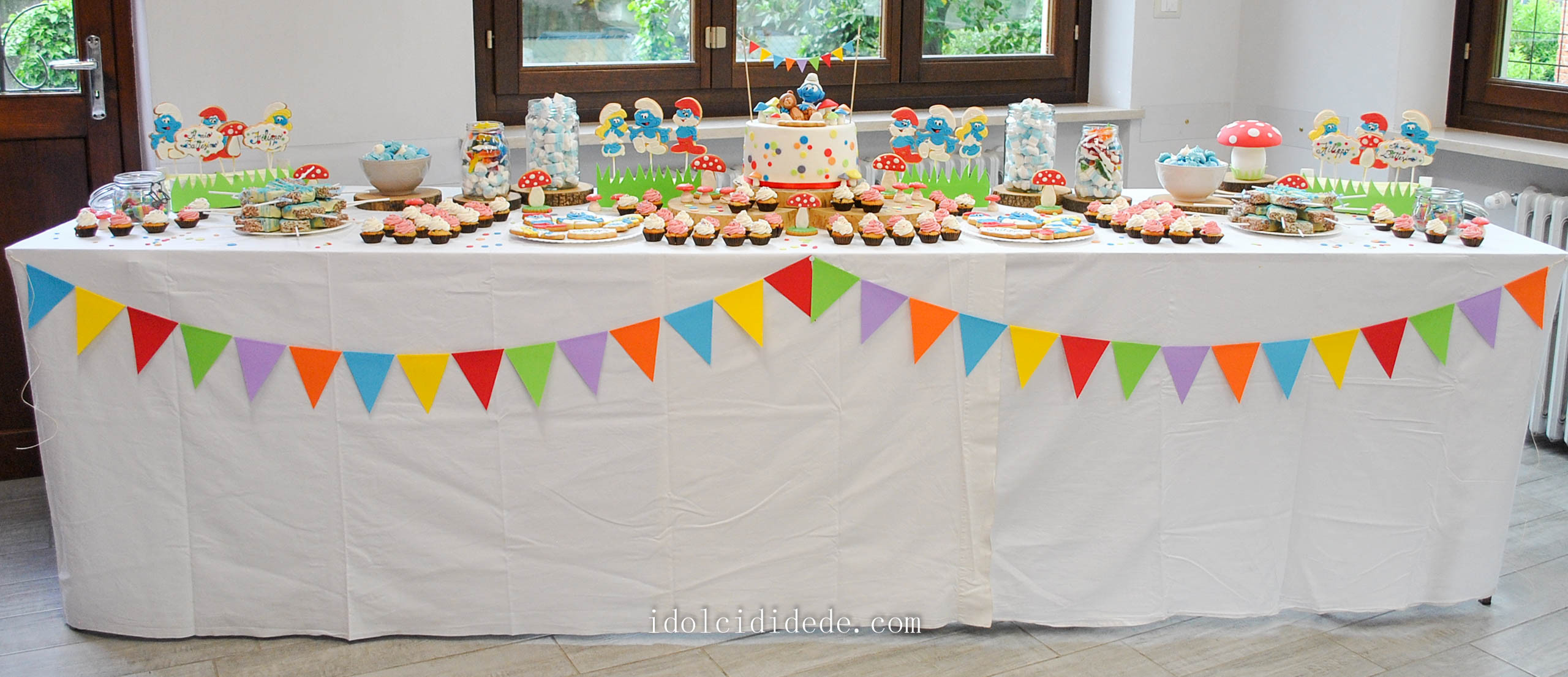 La sweet table