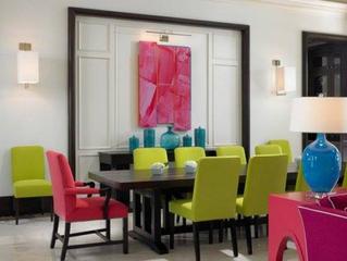 Faites entrer la couleur dans la salle à manger ?