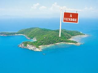 Acheter son île privée dans le monde.