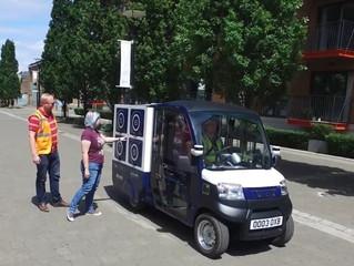 Ocado тестирует автоматические фургоны по доставке заказов