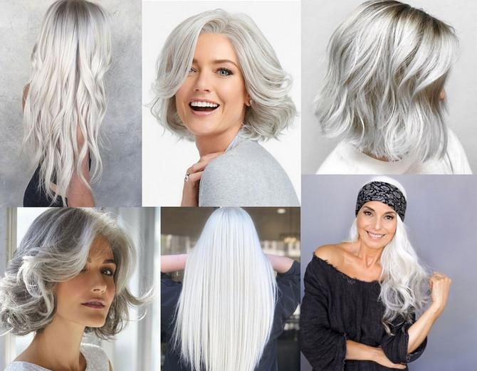 Astuces pour des cheveux blancs éclatants