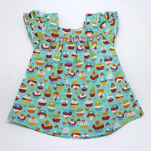 Vestido Bata 2 em 1 - Candy Crush