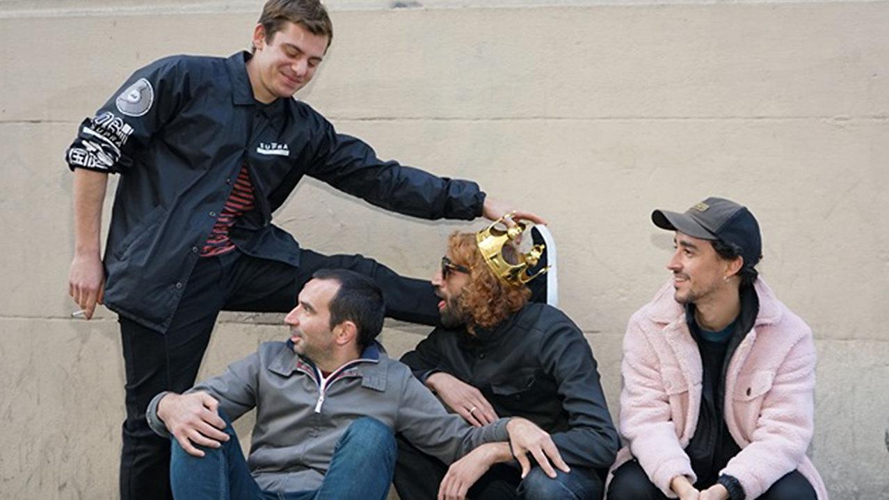 THE RABBLERS, akim cherif skate
