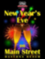 New Year's Eve on Main Street Poster