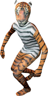 Kids Tiger Morph Suit