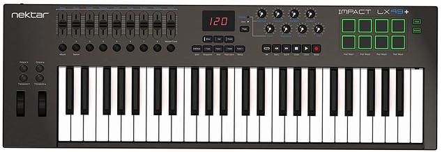 Nektar Impact LX49+ Midi Keyboard Controller