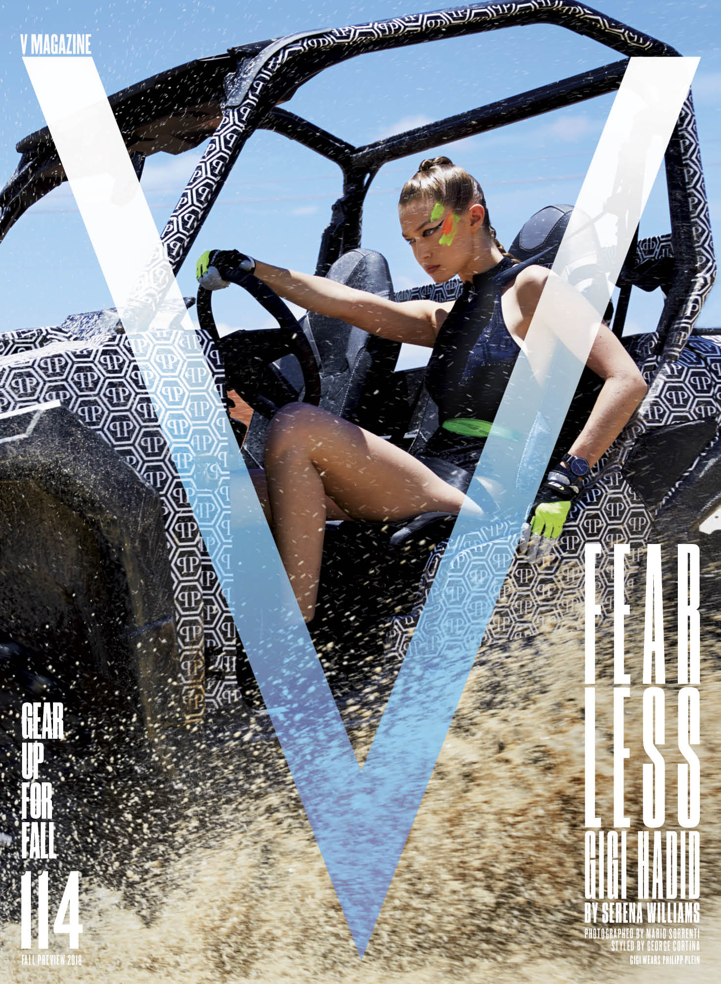 V Magazine Cover With Gigi Hadid
