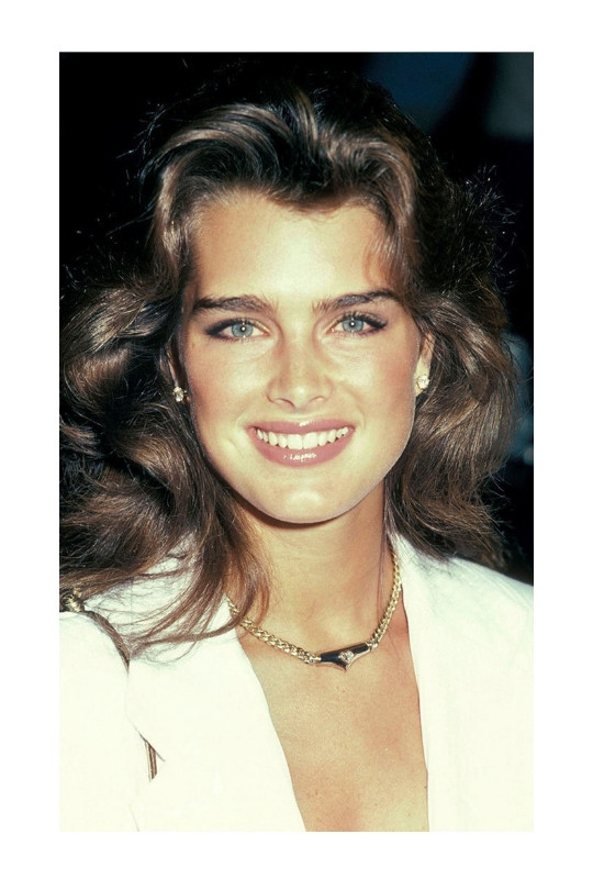EYEBROW TRENDS OVER THE YEARS | 1980s BROOKE SHIELDS | SOFIA ROSE BEAUTY | Pic credit: Getty Images & unknown