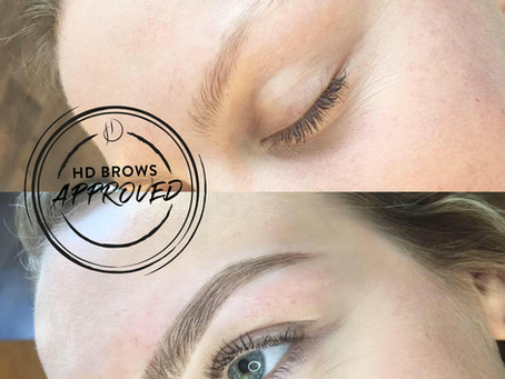 ACHIEVING THE PERFECT EYEBROW SHAPE AND COLOUR WITH HD BROWS