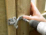 General minor handyman work e.g. install a gate lock, re-nail loose fence palings, fix an exterior dripping tap.