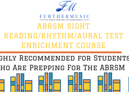 Further Music's ABRSM Sight Reading/Aural Preparation Course