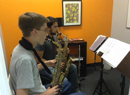 Instrument of the Month--Saxophone Lessons