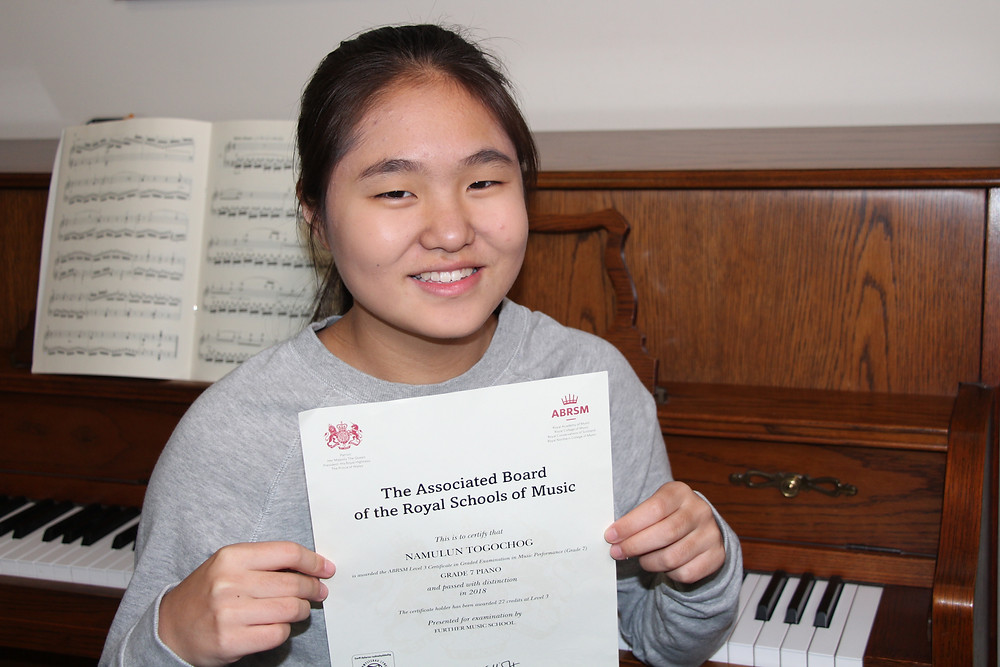 Top ABRSM exam students