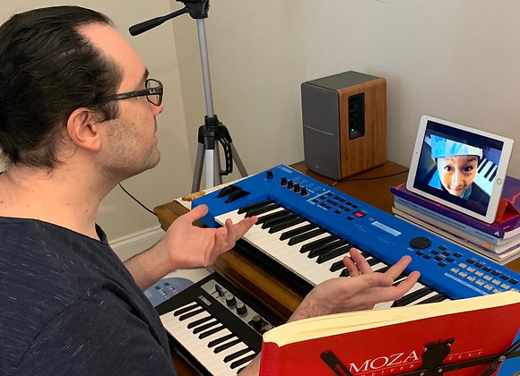 4 X 45 Minutes Online Music Lessons Package