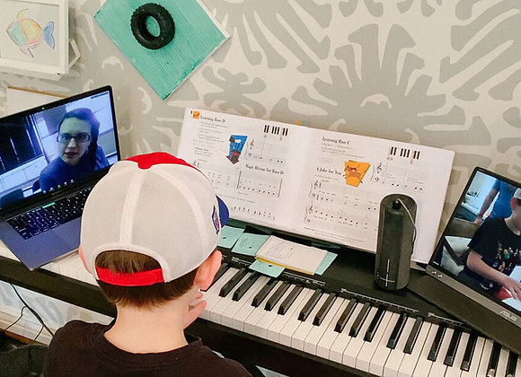 4 X 30 Minutes Online Music Lessons Package