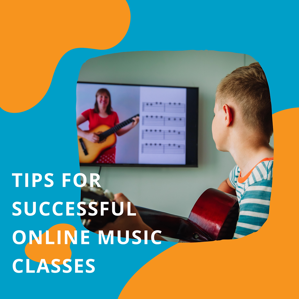 Tips for online music lessons