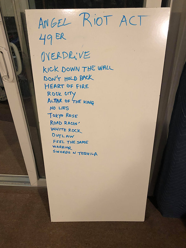 Ex-Riot Members Reveal Set List & Band Name for First Gig