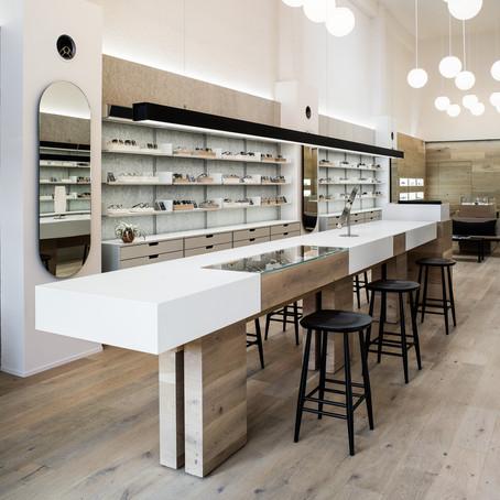 Retail Design Blog | Peninsula Optical by Framestudio