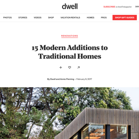 Dwell | 15 Modern Additions to Traditional Homes