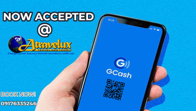 GCASH ACCEPTED HERE @ ATRAVELUX