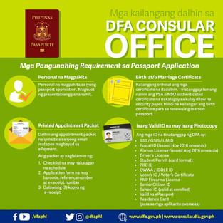 Passport Requirments