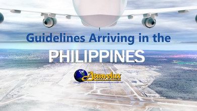 Guidelines Arriving in the Philippines