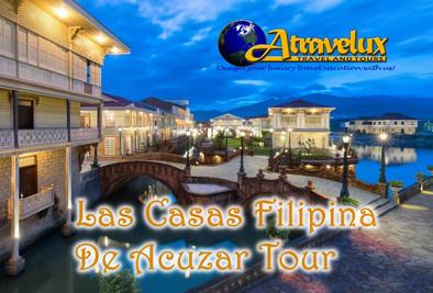 Las Casas Filipina de Acuzar Tour