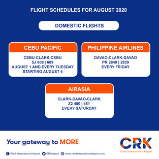 Clark Flights on August