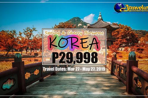 Korea Seasons Tour 2019