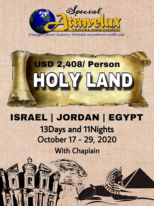 Holy Land Journey t Holy Ground 2019