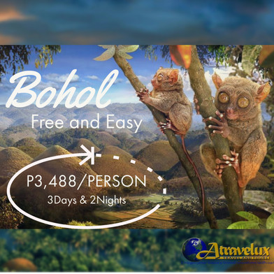 BOHOL FREE & EASY PACKAGE