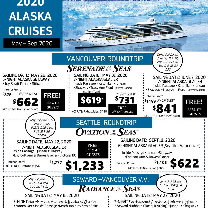 2020 ALASKA- FOR AGENTS